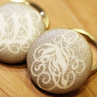 Sweet pairs nest key ring {100% customized wedding small things each 6}