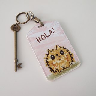 Multifunction card sleeve key ring -Hola! Hiromi