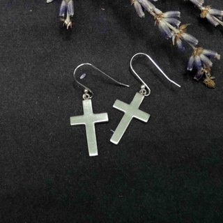Simple cross / earrings / Màn workers
