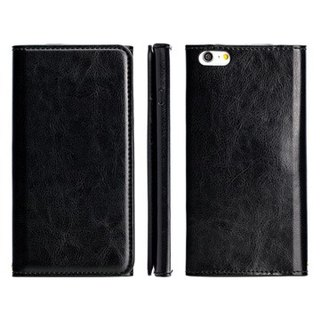 SW iPhone 6/6S Plus dedicated CALM leather holster - black (4716779655254)
