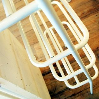 Wall Rack seven Stand - White