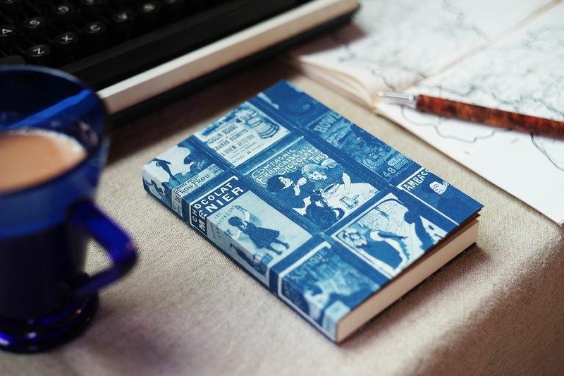 手工藍曬筆記本 - 小丘廣場