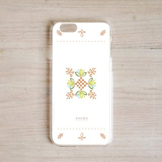 Folk style mobile phone shell A