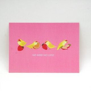 Parrot‧Postcard (Pink Strawberry)