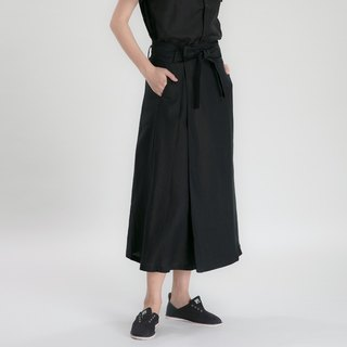BUFU  the wrap-around design ancient Kendo skirt  SK150305