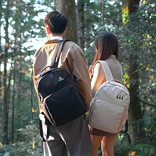 [Open season gift] two-in-one discount - embroidery illustration canvas backpack - sister, lover, good friend