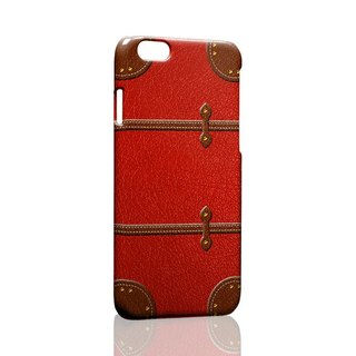 Dark red suitcase iPhone X 8 7 6s Plus 5s Samsung note S9 Mobile Shell