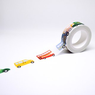 Road series masking tape : Cars