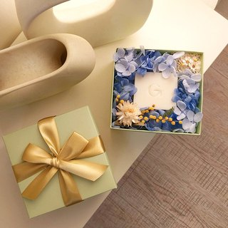 Green Fruit Gift Series - Goddess Athena Soap + Dry Wreath + Gift Box/Send Bag