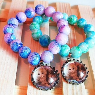 Cat} {Aquarene ball bracelet jewelry