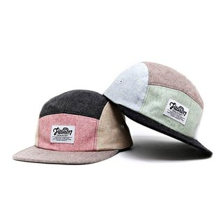 Filter017 Color Matching 5 Panel Camp Cap 毛料拼色五分割球帽
