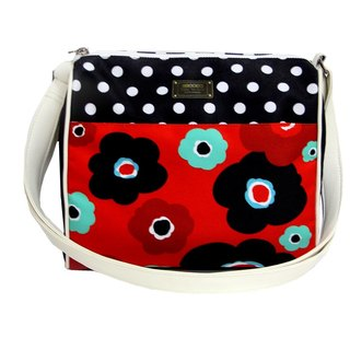 COPLAY  shoulder bag-puppy flower
