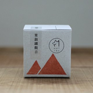 【Wolf Tea】Fruity Iron Goddess Oolong Tea / Highly Roasted Tea