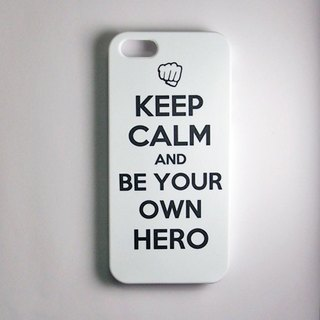 SO GEEK 手機殼設計品牌 THE KEEP CALM GEEK BE YOUR OWN HERO款