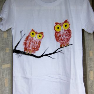 Twin Owls -Winwing painted clothing