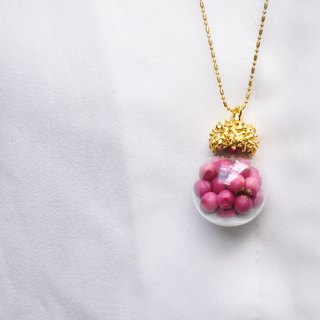∥Cheng Jewelry∥A / Ω chain fall and winter red seed