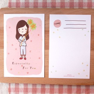 Postcards - send you a bouquet of flowers