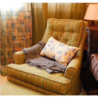 Home Series _ Printed with cloth trim waist pillowcase (Baroque)