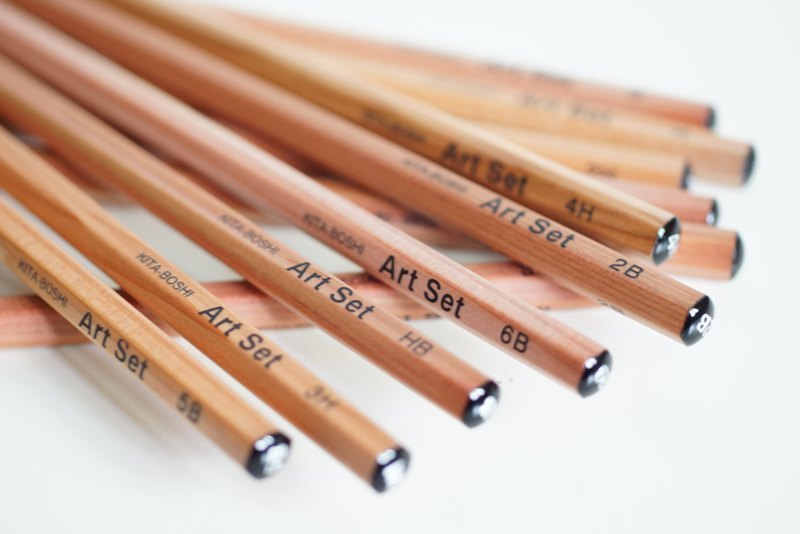 Beixing professional sketching pencils 12 packs (6B~4H)
