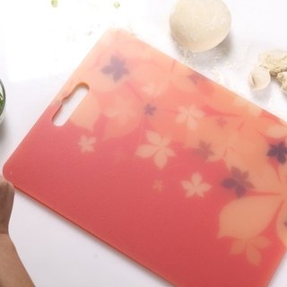 Antibacterial Chopping Board (M) Japanese Imperial Autumn Maple Leaf Pattern