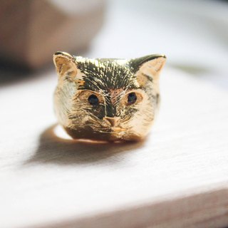 Super Meng cat meow star people ring