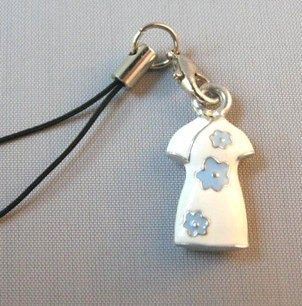 """Dear Deer"" white dress. Phone strap (classic best-selling models)"