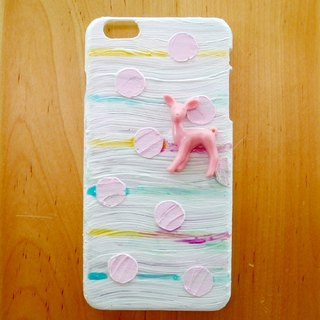 Elk painting phone shell