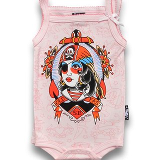 Pirate Girl Pirate Girl - baby clothing bag fart