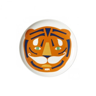 Tiger bone china plate | Donna Wilson