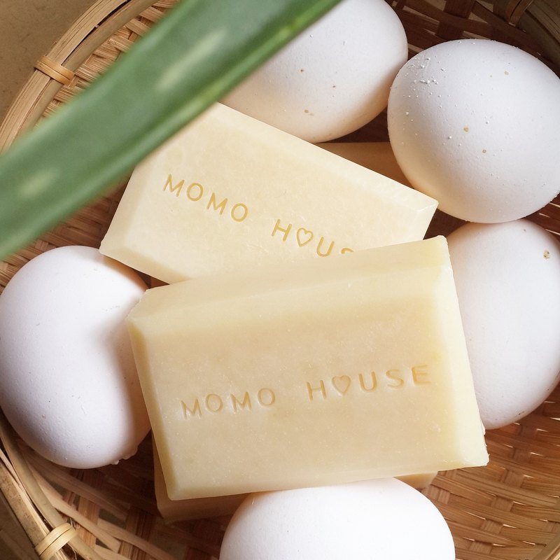 Egg Yolk Aloe Soap