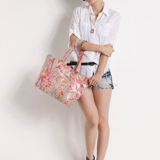 Summer Beach Fun Fun] [Alice side shoulder bag (A4) - Rose Red