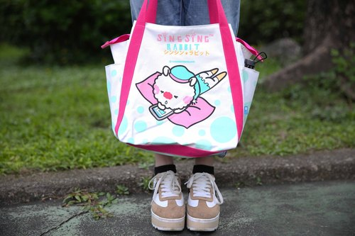Star Rabbit Sing Sing Rabbit Point Bag (Large)