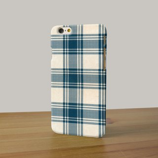 Blue Tartan Plaid Blanket 123 3D Full Wrap Phone Case, available for  iPhone 7, iPhone 7 Plus, iPhone 6s, iPhone 6s Plus, iPhone 5/5s, iPhone 5c, iPhone 4/4s, Samsung Galaxy S7, S7 Edge, S6 Edge Plus, S6, S6 Edge, S5 S4 S3  Samsung Galaxy Note 5, Note 4, N