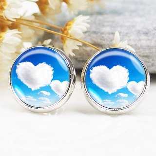Love clouds - ear clip earrings earrings ︱ ︱ ︱ little face modified fashion accessories birthday gift
