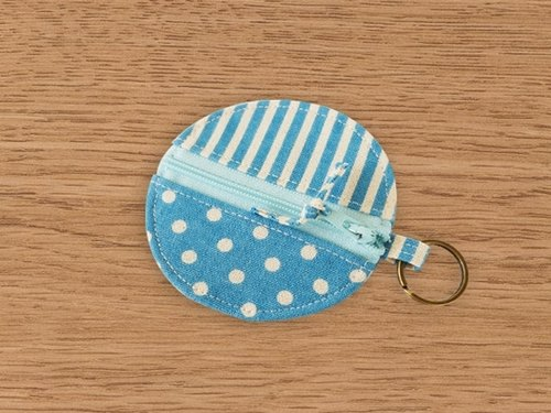 [Miya ko. Grocery cloth hand-made] Shuiyu little / headphone bag / purse / key ring / Wallets