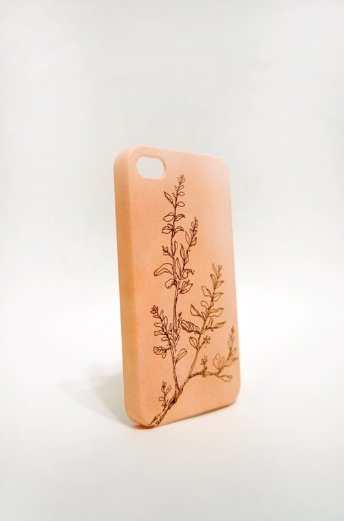 [Autumn / miss] Apple iphone4 & amp; 4S Handmade phone case can be customized