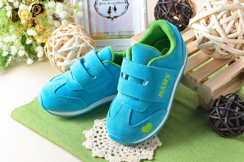 HAMS macarons shoes - baby blue