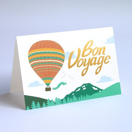 《MIIN POST》Card–Bon Voyage