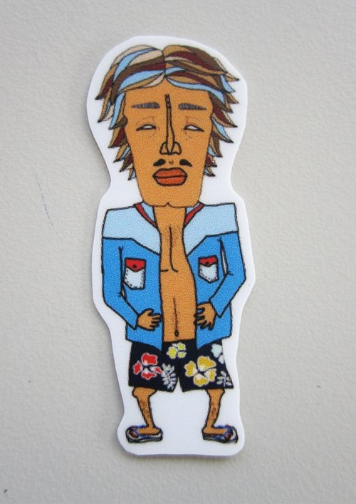 Cowboy Kid Sticker (systemic) (small)
