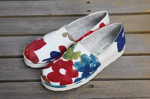 [Whypichi bad temper watercolor handmade shoes] adults exercise shoes / [Whypichi ー hand-made boots ri] adults'