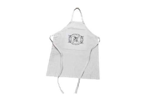 "Fill in the Blank ""natural hemp fabric furniture series - the French countryside coarse cotton linen pocket Apron - LA VIE EN ROSE (French: La Vie en Rose)"