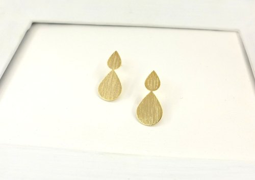 [NU Studio] droplets drop earrings