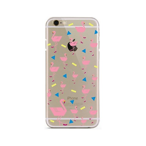 Girl apartment :: Artshare x iphone 6 Transparent Phone Case - Pink egret