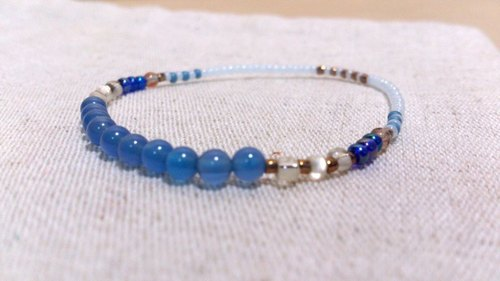 crystal in dearsharka || blue agate. Release