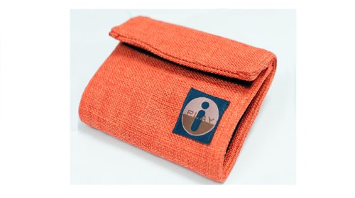 Folding wallet (handmade) trademark has been registered