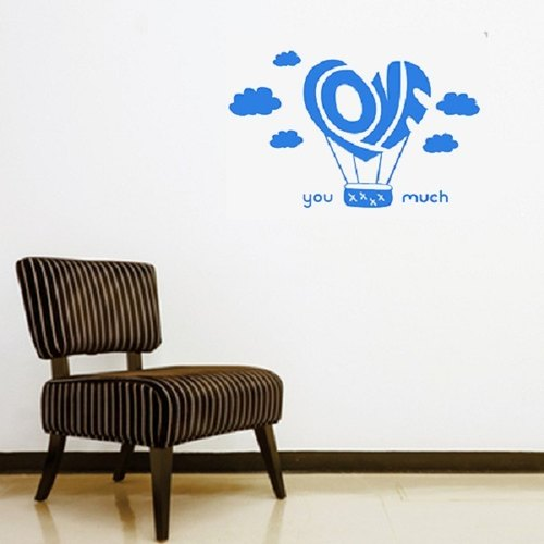 """Smart Design"" Creative Seamless wall stickers ◆ love balloon"