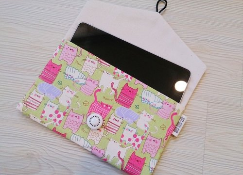 Hand-made cotton cloth 9 inches below Tablet Case Cosmetic Pouch Universal bags
