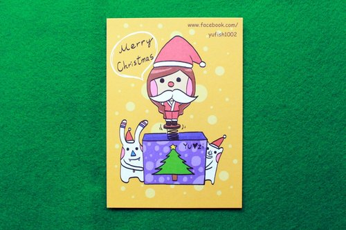 Yuzi Santa * Postcards