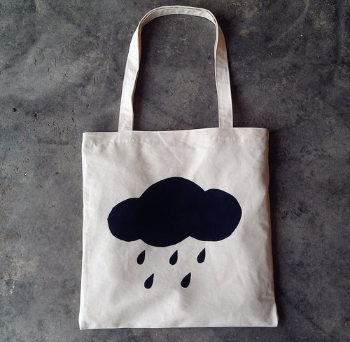 [Rainy] TCThandmade fingerprints cotton bags shoulder bag / bags / bag
