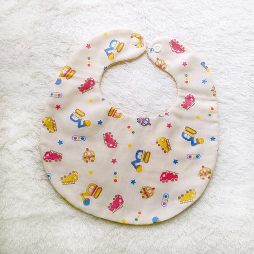 Handmade baby bibs normal car models